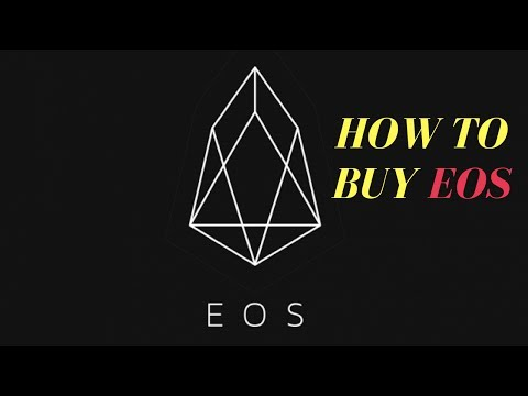 EOS - How to Buy EOS