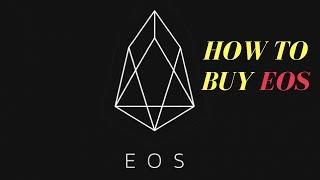 eos how to buy eos