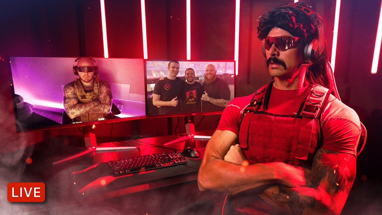 Watch Dr DisRespect and TimTheTatman Play Call of Duty ...