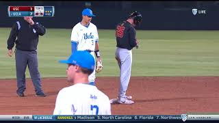 Men's Baseball Highlights 4/20/18: USC-1, UCLA-16