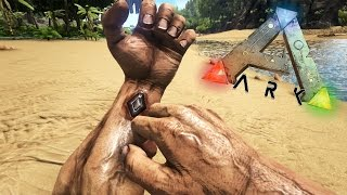 MI PRIMER HOGAR DE PAJA | Supervivencia Prehistórica #1 | ARK: Survival Evolved [PS4]