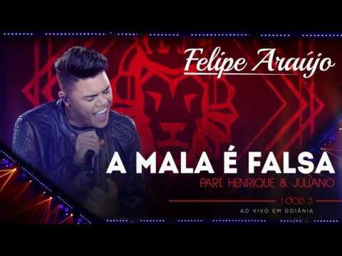 Felipe Araújo - A mala é falsa part. Henrique & Juliano | (áudio DVD - 1dois3)