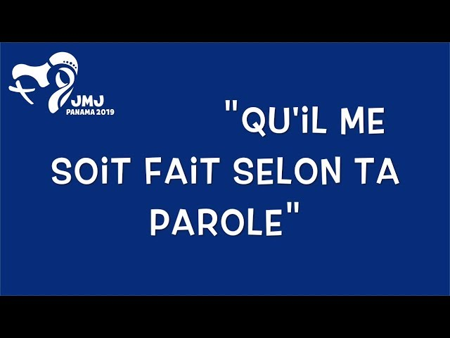 Hymne JMJ 2019 // FR Karaoké