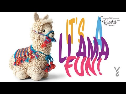 Ragdoll Llama Crochet - YouTube   360x480