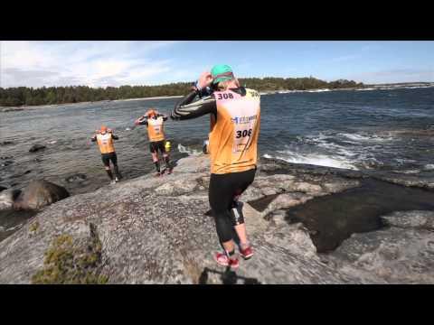 Utö Swimrun 2015 - Short version