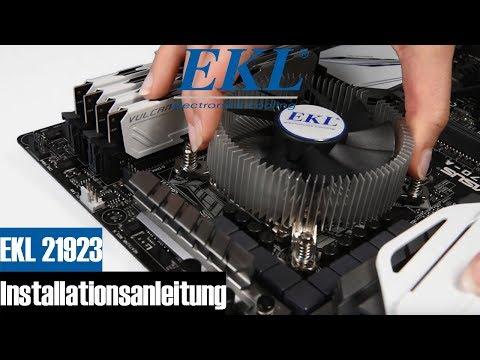Installationsanleitung EKL 21923