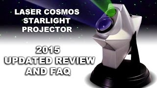 2015 Laser Cosmos Star Light Projector (Awesome)! UPDATED REVIEW