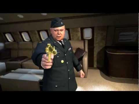 007 Legends GOLDFINGER Cutscenes