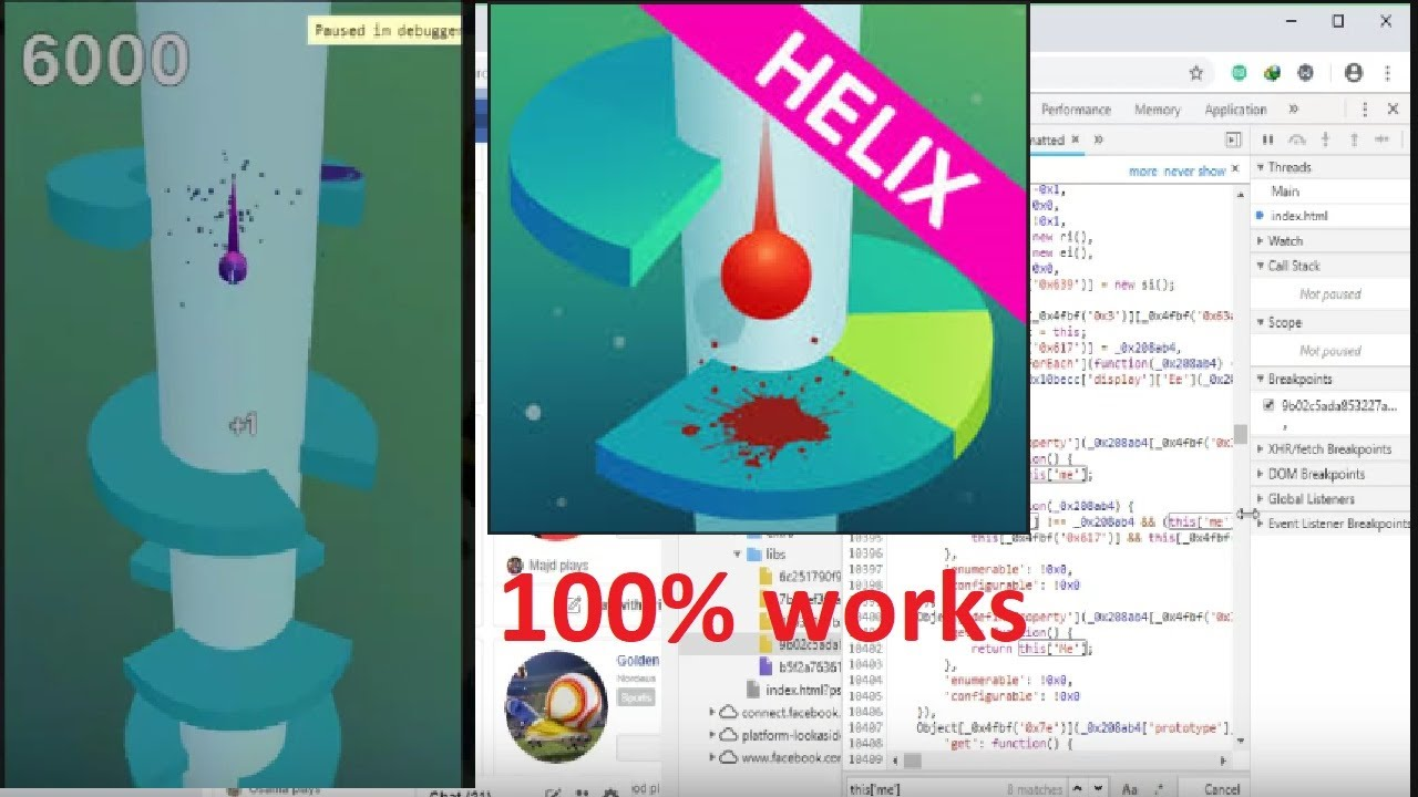 HELIX JUMP Hack - Level 999999 NO ROOT Android & iOS by