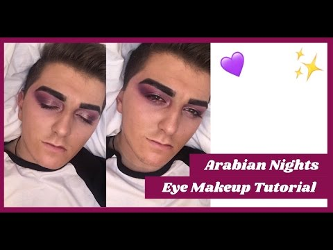 ARABIAN NIGHTS GLAM EYE MAKEUP TUTORIAL | Tom Rebecca
