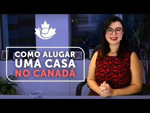 COMO ALUGAR UMA CASA NO CANADÁ