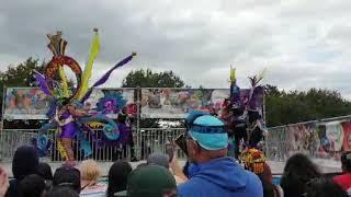 Inspire Urself Carnival Troupe at Nottingham Carnival 2019