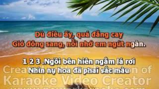 Tinh Yeu Hoa Gio karaoke.avi