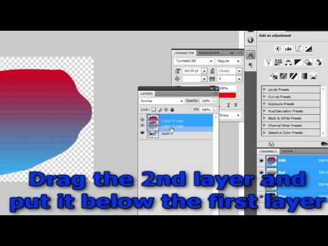 Photoshop Tutorial- How To Outline Image or Text
