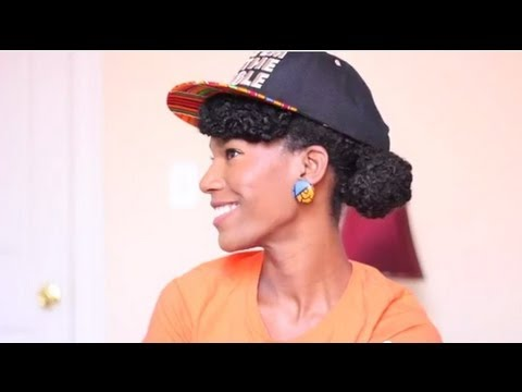How To Wear A Cap With Natural Hair