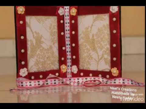 Double Sided Photo Frame By Neet\'s Creations - YouTube