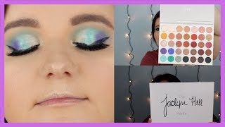 TESTING OUT FIRST IMPRESSION OF MORPHE THE JACLYN HILL PALETTE | CHARLEANE KNOTT
