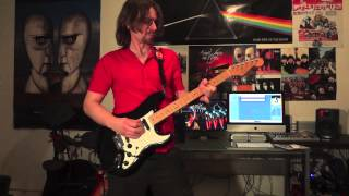 Pink Floyd - Mother (guitar solo cover)  (HD)