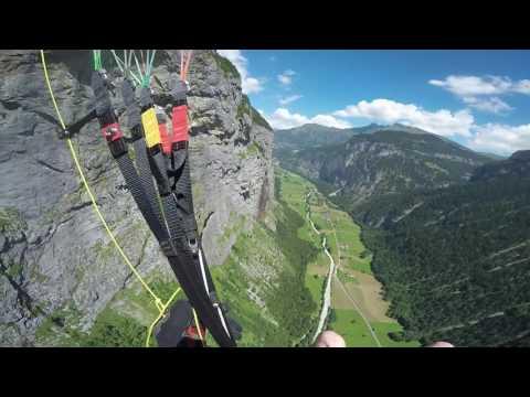 Lauterbrunnen & Mürren Paragliding Switzerland