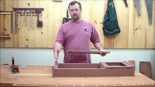 Shaker Wall Clock Part 3 Episode #24 Billy's Little Bench