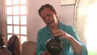 Free Indian Market   Judy Tafoya Pottery