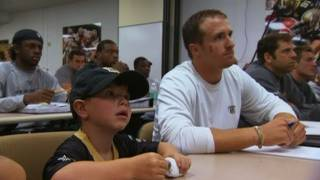 My Wish: Drew Brees meets Devan