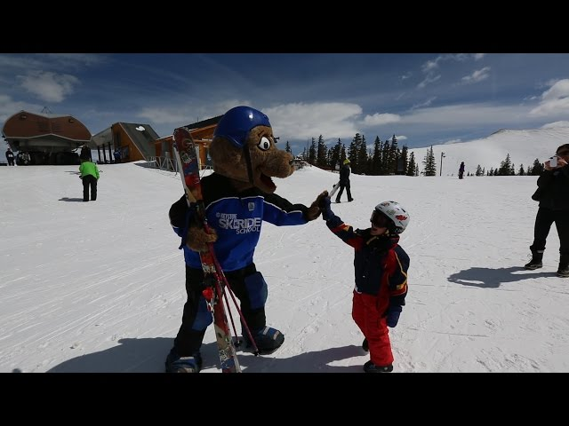 Kids SKi Free 100,000 Golden Ticket Celebration Highlights