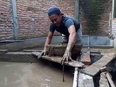 Youtube Ternak Lele Kolam Beton - KOLAMA
