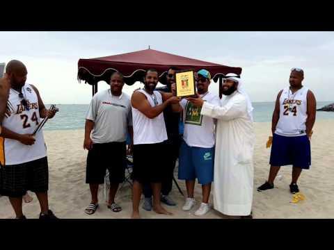 Closing ceremony Kuwait Beach Flag Football League (LIVE)