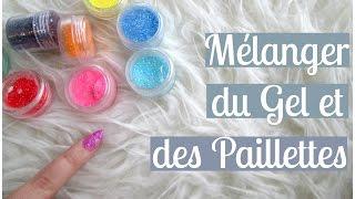 NAIL ART Mélanger du Gel et des Paillettes | Melissa Easy Nails