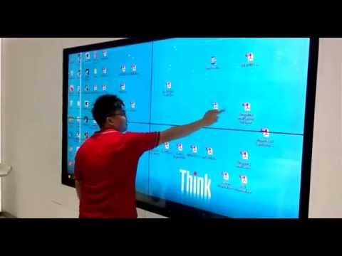 Large Touch Screen >> Large 110 Touch Screen Video Wall In Malaysia