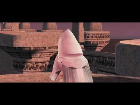 KOTOR White Darth Revan Robes with Battle sequence - YouTube
