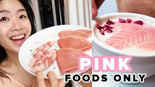 I Only Ate Pink Foods For 24 Hours