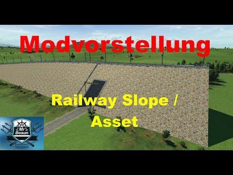 ⚓ Transport Fever [Modvorstellung] Railway Slope / Assets 🇩🇪