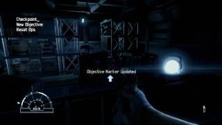Aliens vs Predator - PC Marine Gameplay - Fraps recorded - DX11 1920X1080 part1