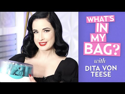 Dita Von Teese: What's In My Bag