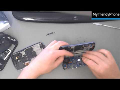 7893c69ebf0 Guía de reparación de la carcasa frontal y la pantalla LCD de Galaxy S3 mini  - YouTube