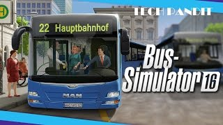 Gambar cover How to Download Bus Simulator 16 full free for PC in Hindi
