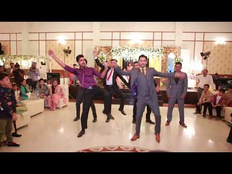 Wedding Dance Performance on SRK songs - Indian Bollywood