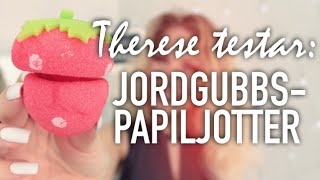 Therese testar: JORDGUBBS-PAPILJOTTER
