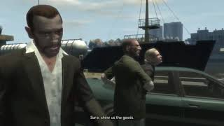 GTA IV, Diamonds are a girl's best friend mission, Gameplay 107