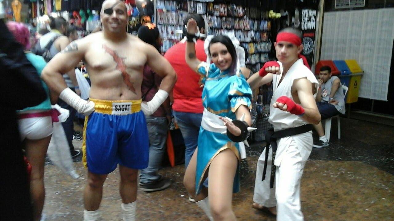 Sagat Street Fighter Cosplay