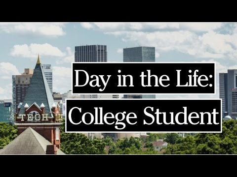 A DAY IN THE LIFE OF A COLLEGE STUDENT | GEORGIA TECH