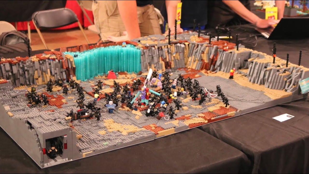 Lego Avengers Endgame Final Battle Collaboration MOC Show ...