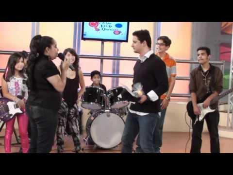 Presentacion en La Tele Plan Vacacional Musical MDT 2011