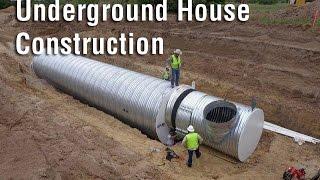 Underground House Construction - Atlas Survival Shelters | Ameztube