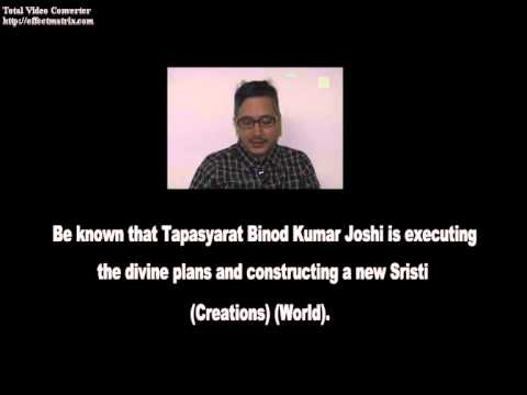 2015 Most Important Divine Notice (Communiqué). Great World. Tapasyarat Binod Kumar Joshi.