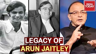 From A Student Leader To Corridors Of Power, Arun Jaitley Leaves Behind A Legacy
