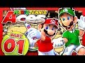 Mario Tennis Aces - Part 1: Bask Ruins! (2 Player)