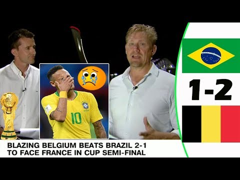 BRAZIL VS BELGIUM 1-2 [POST MATCH ANALYSIS] WITH PETER SCHMEICHEL!